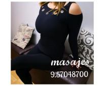 Termina la semana con ricos masajes eroticos
