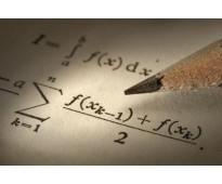 Clases de econometría, estadística, álgebra, cálculo, microeconomía, optimizació...