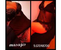 Semana de ricos y placenteros masajes eroticos