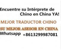 Guia traductor chino interprete español en beijing china