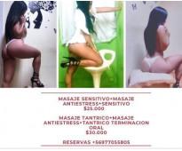 Masaje sensitivo corte erótico  977055805 ahumada
