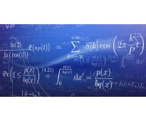 Clases de econometría, estadística, cálculo, optimización