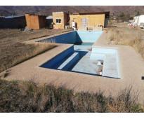 Vendo terreno 3500 m2 con cabaña y piscina en putaendo