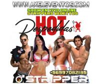 Vedettos strippers vitacura teléfono +56997082185
