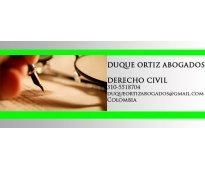 Abogados civilistas en barranquilla y cartagena